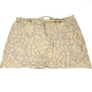 Maurices Floral Size 18 Above Knee Casual Skirt